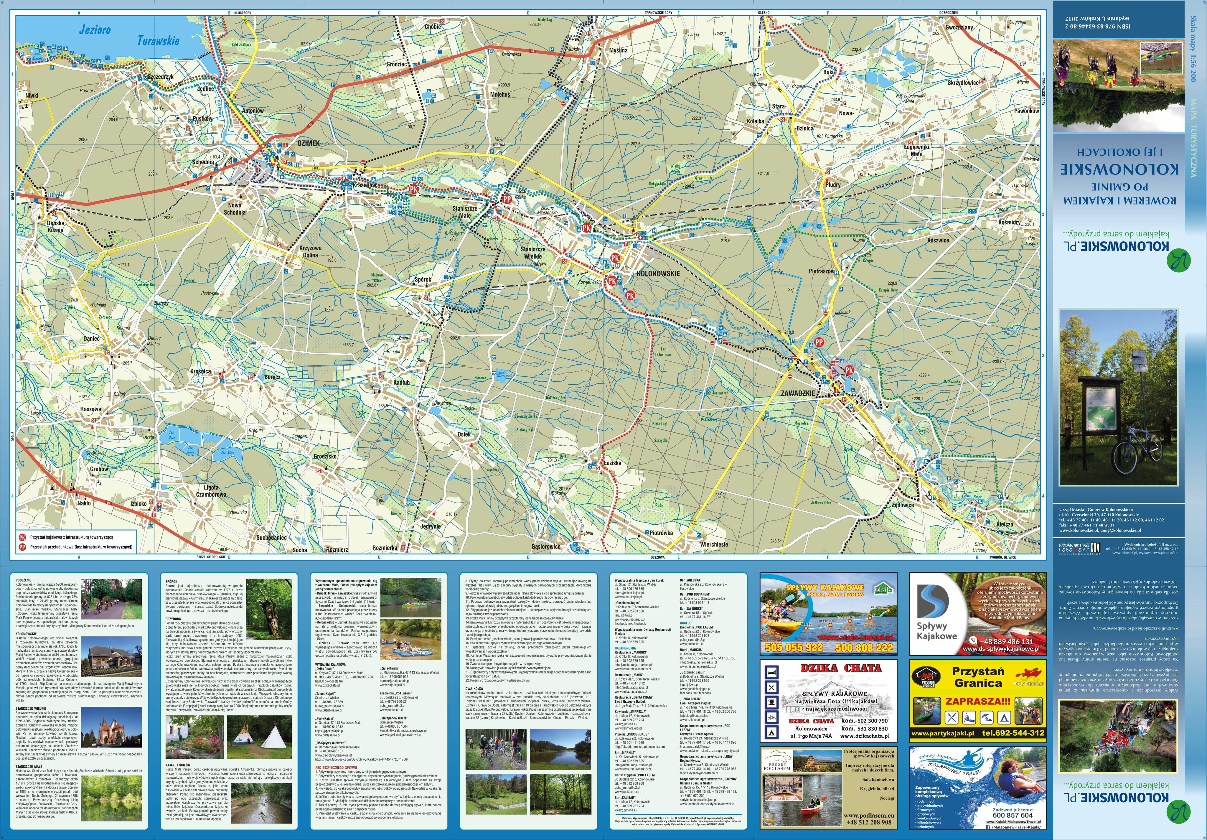 Mapa turystyczna Kolonowskie str. 2 - pobierz w wysokiej rozdzielczości